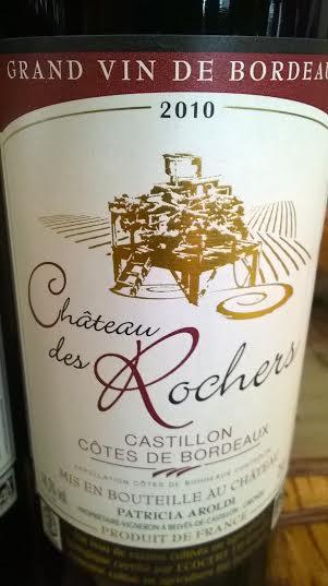 Chateau des rochers Castillon